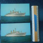 American Export: Set of Connie and Indy Postcards