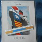 French Line: Ultimate 1950's Liberte PW Brochure