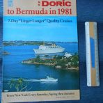 Home Lines: Doric to Bermuda in 1981