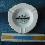 Cunard White Star: RMS Queen Elizabeth Ashtray Restocked