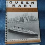 Cunard White Star: Hotel Queen Mary 1994 Calendar Planner