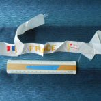 French Line: SS France White Hat Ribbon