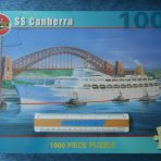 P&O Orient: Canberra 1000 Piece Jigsaw Puzzle.