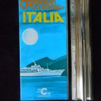 Costa Line: Italia Deck Plan Cruise folder