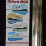 Cunard Line: Cabin to USA Interiors Foldout