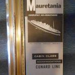 Cunard Line: Mauretania Cabin Class Deckplan