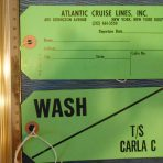 Costa Cruise Lines: Carla C Baggage tag