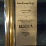 NDL: 1934 Third Class Tissue Deck Plan for Europa