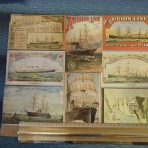 Eight Late 1800's Reprint Postcards