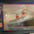 United States Lines: SS United States Glencoe Model