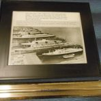 MISC: Luxury Liner Row Press Photo 1965