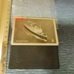 Cunard Line: Queen Elizabeth Souvenir Mirror.