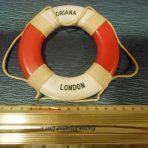 P&O Orient: Oriana Souvenir Life Ring