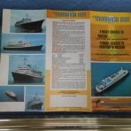 Monarch Cruise Lines: Monarch Sun 1975 Deck Plan Brochure