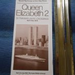 Cunard Line: QE2 Rate Schedule for April-Nov 1978