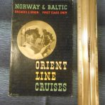 Orient Line: Orcades and Orion Norway and Baltic Cruises Brochure 1938
