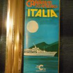 Costa Line: Italia 1974 Deck Plan Fold Out