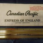 Canadian Pacific: Empress of England Tissue Deck Plan