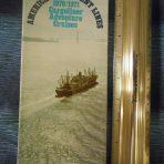 American President: Cargo Liner Adventure Cruises 1970/71 Folder