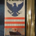 United States Lines: SS America First Class Deck Plans