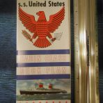 United States Lines: SSUS Cabin Class Deck Plans
