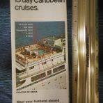 Grace Lines: Santa Rosa and Paula Heavy Tissue Foldout 13 Day Cruises.