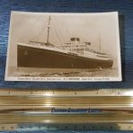 White Star Line: Britannic Portrait Post card
