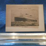 Cunard WSL: Georgic Log Abstract FEB 1934