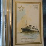 WSL: Britannic Passenger List Nova Scotia Cruise Aug 1931