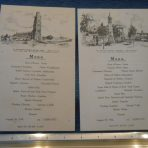 WSL: Adriatic 2 Menu cards 1932