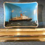 NDL: SS Bremen V Photo Pin Tray