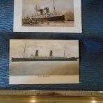 Cunard Line: Campania postcard set