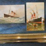 Cunard Line: Lucania postcard set