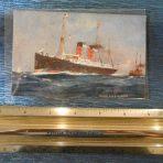 Cunard: Umbria Postcard
