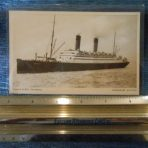 Cunard: Carmania Post card