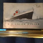 United States Lines: SS United States Trials Booklet