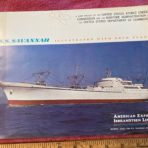 American Export: NS Savannah Prestige Brochure