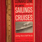 Cunard Line: Sailings folder #3 August 1965