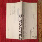 Costa: Franca C Deck Heavy Tissue Plans