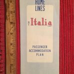 Homes Lines: MS Italia Deck Plans