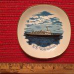 HAL: SS Volendam Small portrait Pin dish