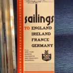 NGL: Sailings Folder dated April 15th 1930