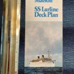 Matson Line: SS Lurline Deck Plan