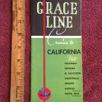Grace Line: Cruises to California 1936
