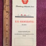 Hamburg Atlantik Line: SS Hanseatic Yellow Deck Plan