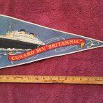 CWS: MV Britannic Felt Pennant.
