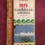 Italian Line: 1975 Caribbean Cruises from NY Brochure