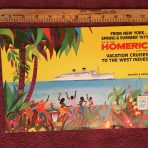 "Home Lines"" Homeric Brochure Spring and Summer 1973"