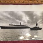 Cunard Line: QE2 Keystone Press photo 1-3-69
