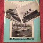 Book: Famous Ocean Liners Photo Postcards by Bill Miller